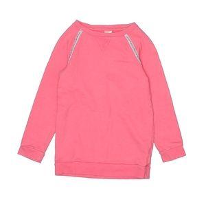 Oshkosh girls peach pink color sweatshirt.